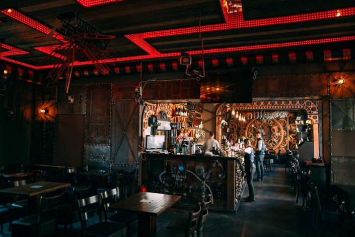 Enigma steampunk bar